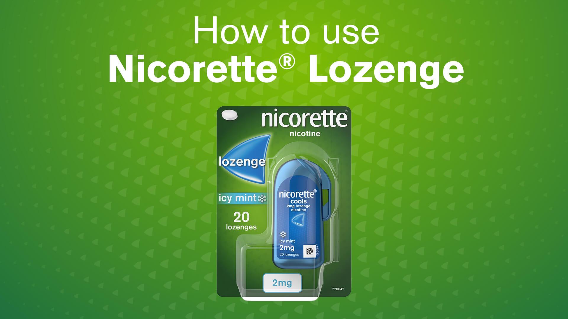 Nicorette® Lozenge