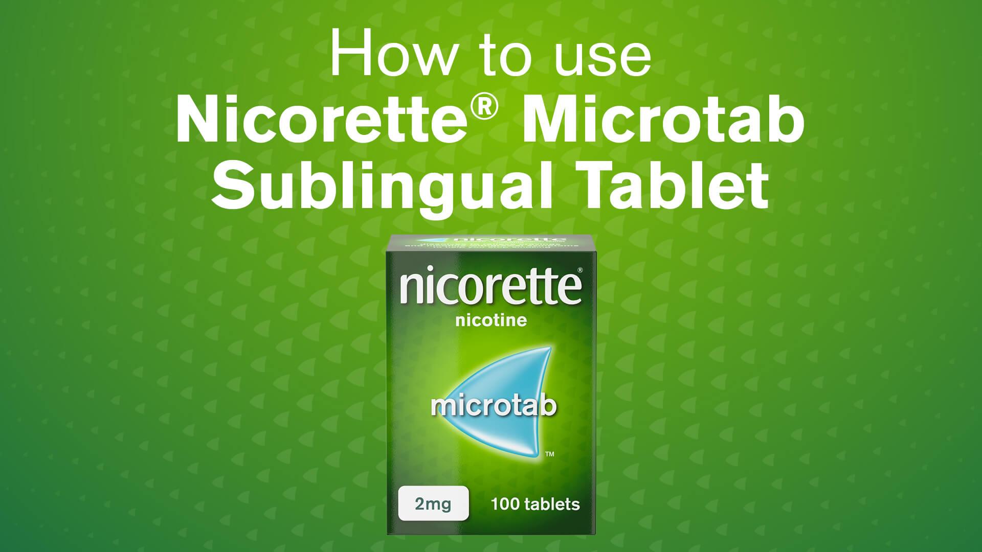 Nicorette® Microtab
